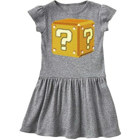 Pop Art Mystery Cube Toddler Dress