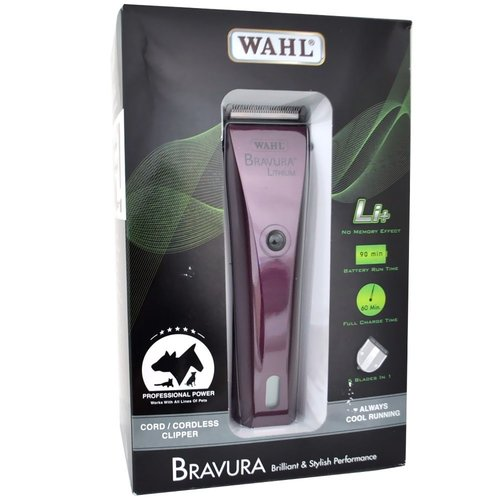 Wahl Bravura Lithium Clipper Kit, Purple