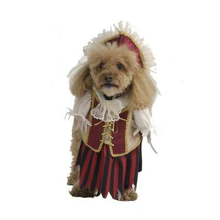 Pirate Queen Pet Pet Costume - - Dog Pirate Costumes