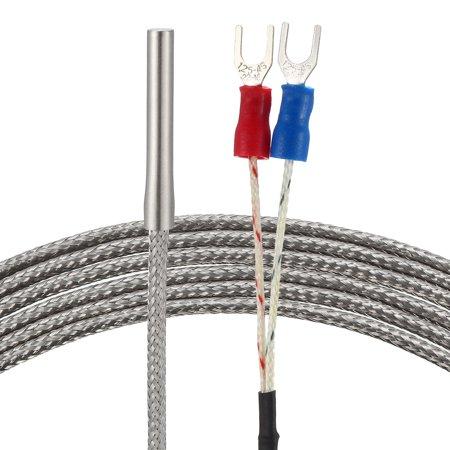 K Type Temperature Sensor Probe 1.5M Cable 4mm x 30mm Thermocouple