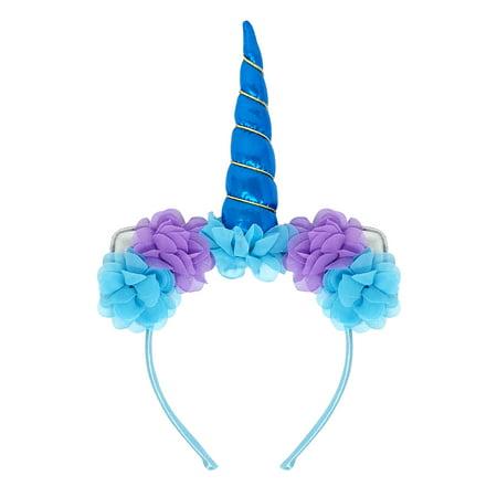 Wrapables® Unicorn Headband, Cosplay Costume Party Headwear for Women and - Halloween Headwear