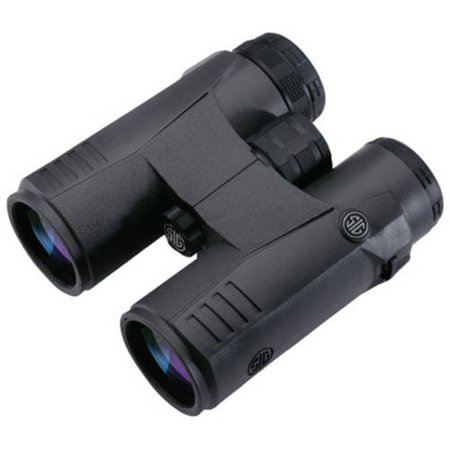 Sig Sauer Zulu 5 Binoculars 10X42mm Closed Bridge Graphite  Soz51001