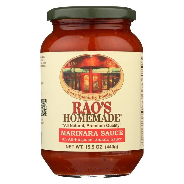 Rao's Specialty Food Homemade Sauce - Marinara - Case Of 12 - 15.5 Fl Oz.