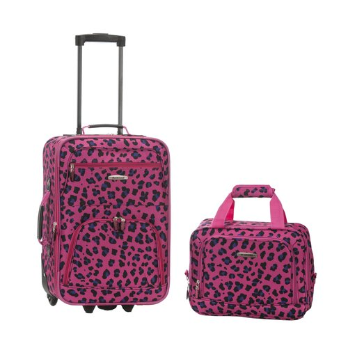 Rockland Rio 2-Piece Luggage Set