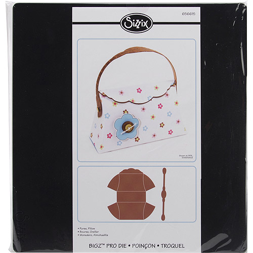 Sizzix Bigz Big Shot Pro Die, Pillow Purse