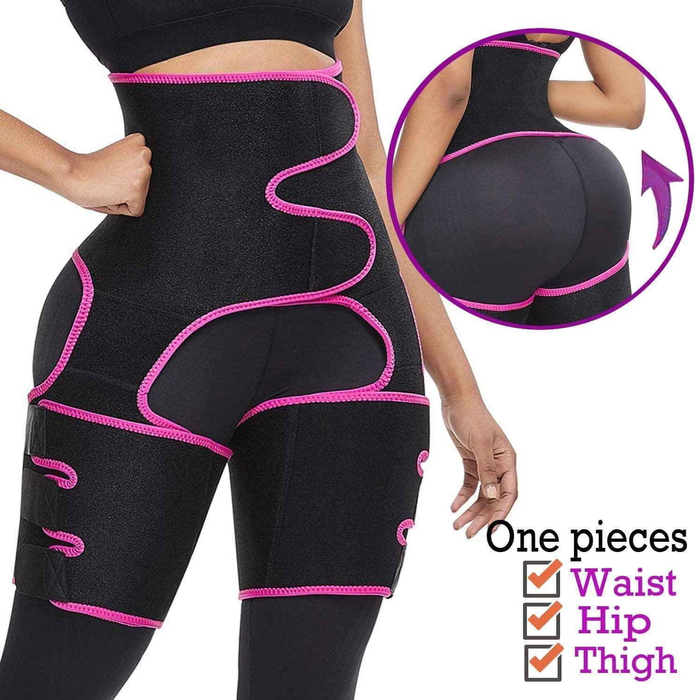 HOMELEX Thigh Waist Trimmer for Women Weight Loss Butt Lifter Trainer Slimming Support Belt Hip Raise