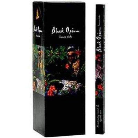Opium Incense - Kamini Black Opium (200 Pack) Incense Sticks 25 Packs of 8 Sticks
