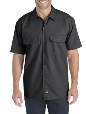 0bc457bf67a9c9 Product Image Big Men's Short Sleeve Flex Twill Shirt