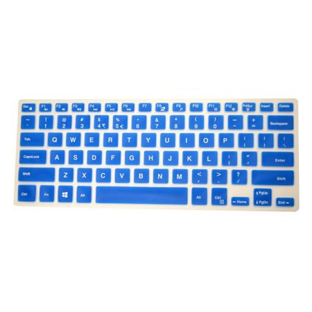 PcProfessional Blue Ultra Thin Silicone Gel Keyboard Cover for Dell XPS 9550 [2015 Model] 15.6