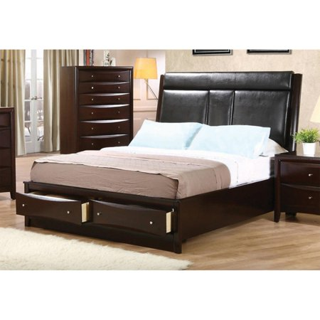 Coaster Furniture Phoenix Upholstered Storage Bed (Halloween Store Phoenix)