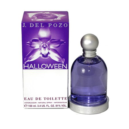 Halloween Eau De Toilette Spray 3.4 Oz / 100 Ml - Disfraz De Halloween