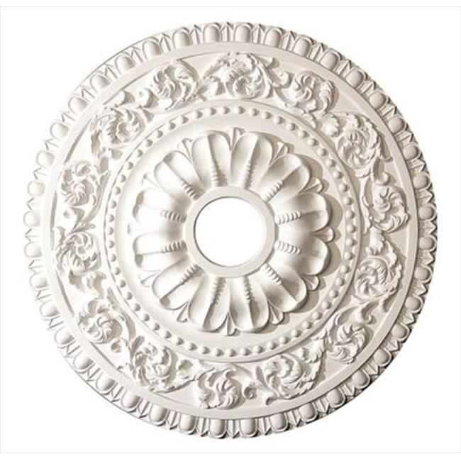 American Pro Decor 5APD10227 23.62 in. Leaf Scroll Ceiling Medallion