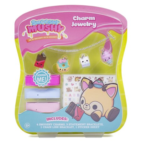 Smooshy Mushy Charm Jewelry Set
