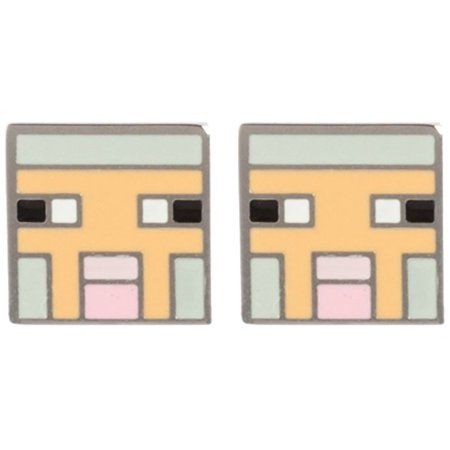Earrings   Minecraft   Sheep Stud Licensed J6653