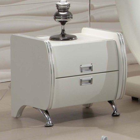 US Pride Furniture Olivia 2 Drawer Nightstand ()