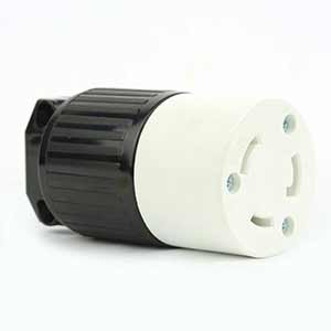 Superior Electric YGA024F Twist Lock Electrical Receptacle 3 Wire, 30 Amps, 125V, NEMA L5-30R - YGA024F