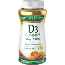 Vitamins & Supplements: Nature's Bounty Vitamin D Gummies