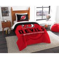 New Jersey Devils The Northwest Company NHL Draft Twin Comforter Set