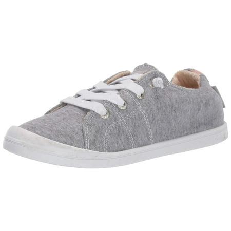 Roxy Women's Bayshore Slip On Sneaker Shoe, New Grey ash 10 M US Ash Slip On