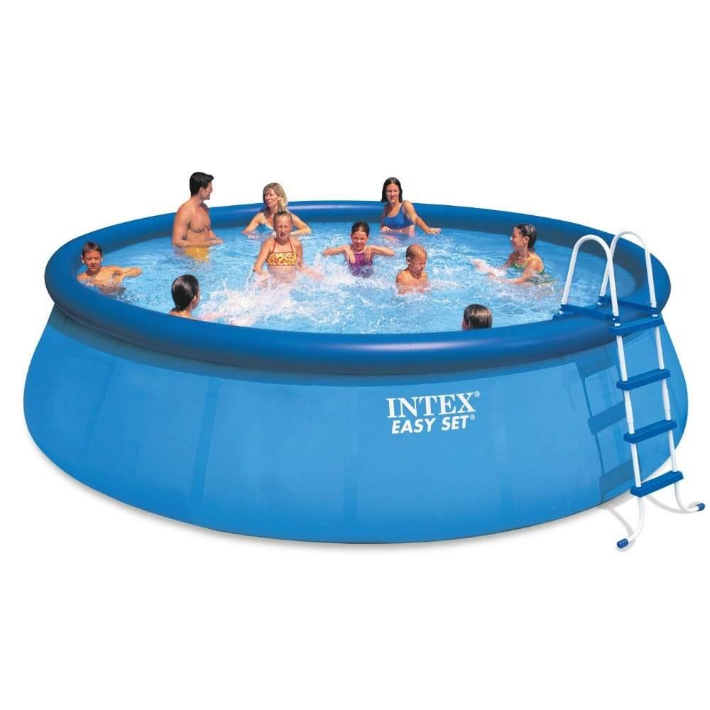 Intex 18 X 48 Inflatable Easy Set Above Ground Pool Set Filter Cartridge 6 Walmart Com Walmart Com