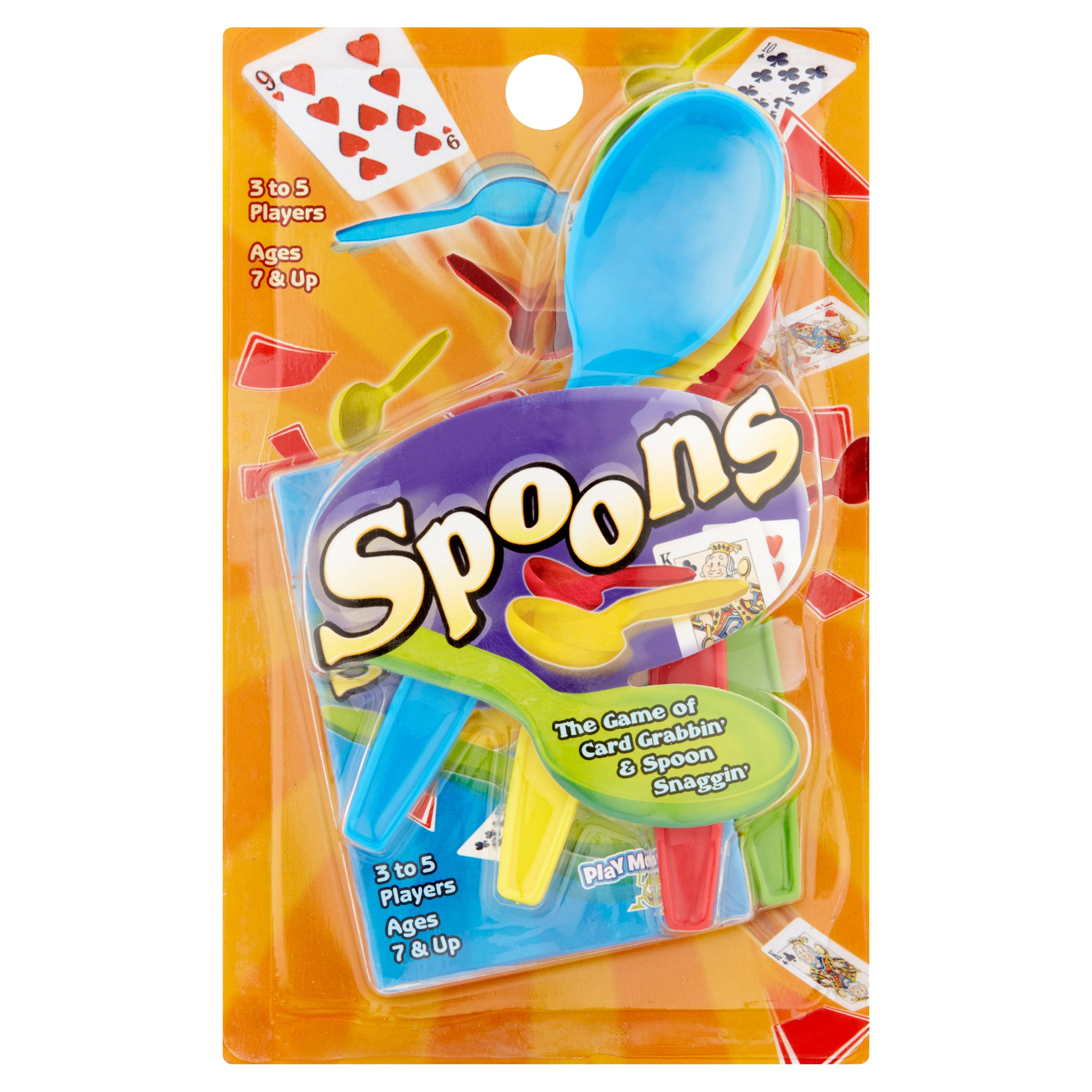 Spoons Game Ages 7 & Up