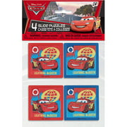 Disney Cars Slide Puzzle Party Favors, 4ct
