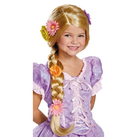Disney Rapunzel Prestige Wig Child Halloween Accessory