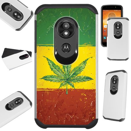 Compatible Motorola Moto G7 Power (2019) | Moto G7 Supra | Moto G7 Optimo Maxx Case Hybrid TPU Fusion Phone Cover
