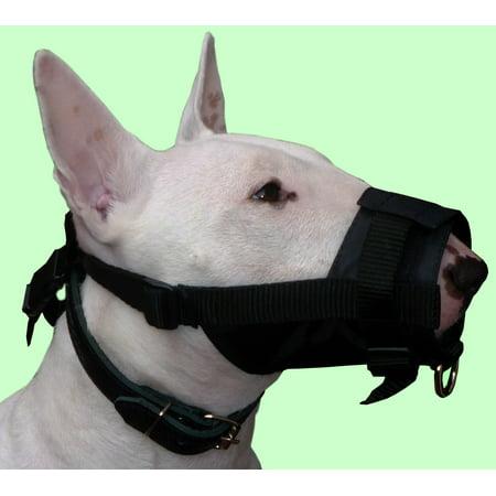 - Adjustable Nylon Dog Muzzle No Bite 10