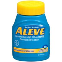 Aleve Pain Reliever Fever Reducer Caplet, 320 Ct