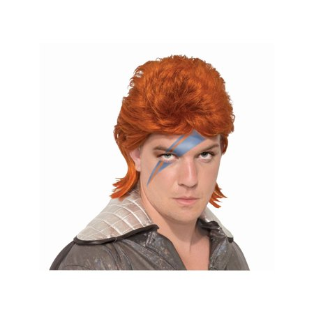 Halloween Orange Rock Star Wig - Jazz Rock Nice Halloween