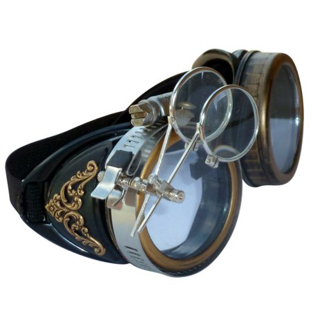 Steampunk GoggLes VicTORian Novelty Glasses cosplay Halloween costume accessory s2 by UmbrellaLaboratory - Novelty Goggles