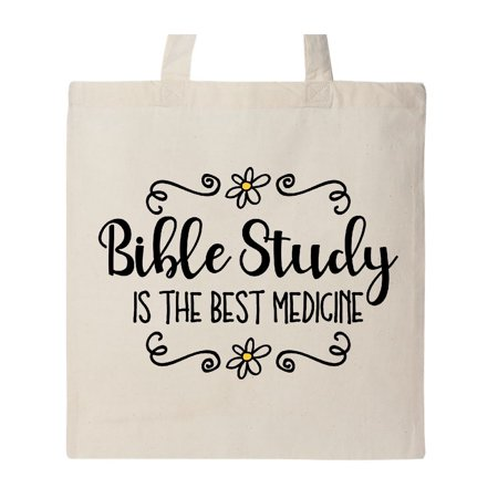 Bible Study Best Medicine Tote Bag