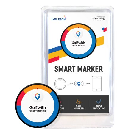 Golfwith Smart Marker / Voice GPS Golfball Marker for IOS and Android NEW