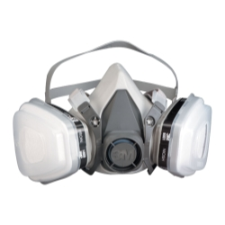 RESPIRATOR-HALF FACEPIECE PACKOUT LARGE