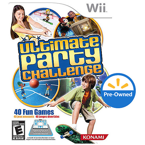 Ultimate Party Challenge (Wii) - Pre-Owned