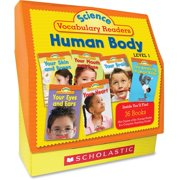 Scholastic Res. Vocabulary Readers Human Body Printed Manual