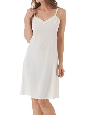 Women's Shadowline 27304 Adjustable Strap 25 Inch Daywear Full Slip