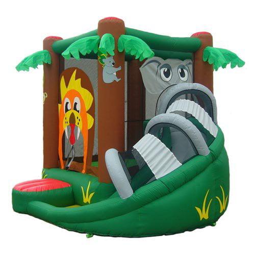 Kidwise Safari Bouncer with Slide