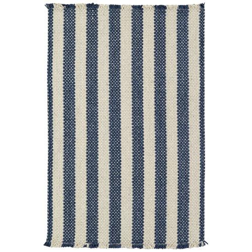 Capel Rugs Nags Head Stripe Blue Area Rug