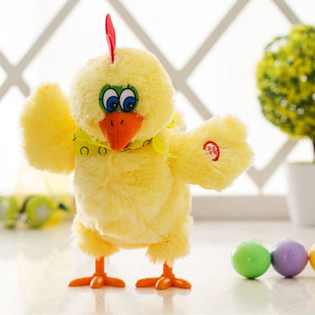 Walking Egg Laying Chicken with Lights Sound and Music- Great Easter