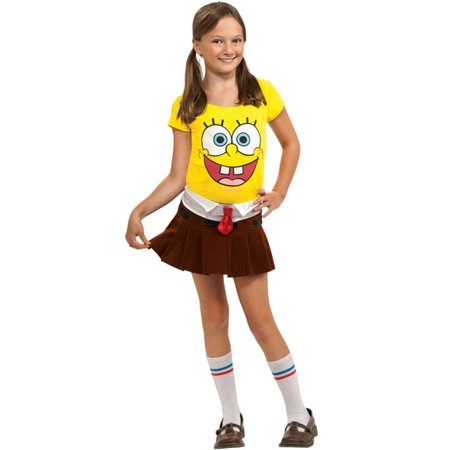 Sponge Babe Toddler/Child Costume (Gary Spongebob Costume)