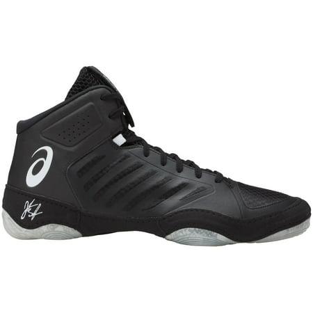 ASICS Men's JB Elite V3 Wrestling Shoes (Black/White,