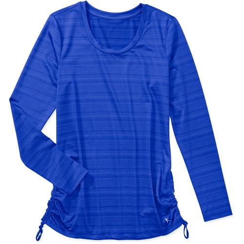 Danskin Now Women's Shirred Side Active T-Shirt