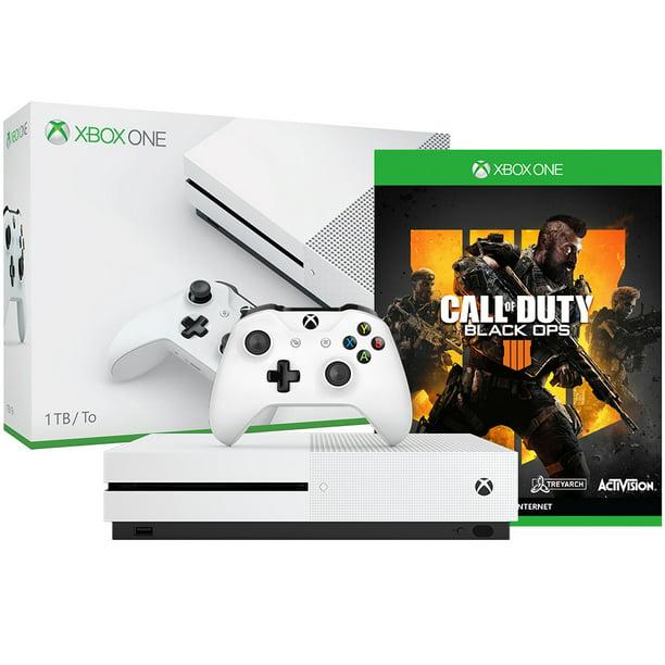 Xbox One S 1tb Call Of Duty Black Ops 4 Bundle White Walmart