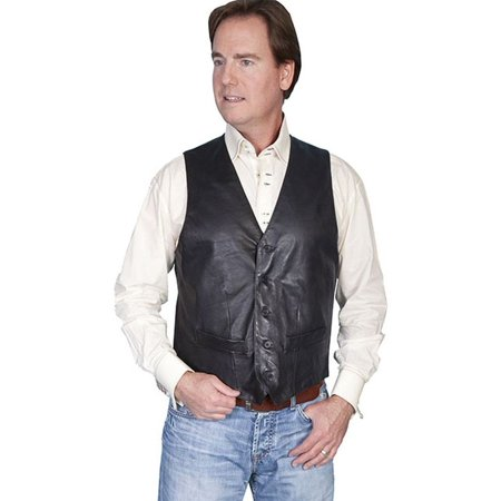 Men's Scully Lambskin Contemporary Vest