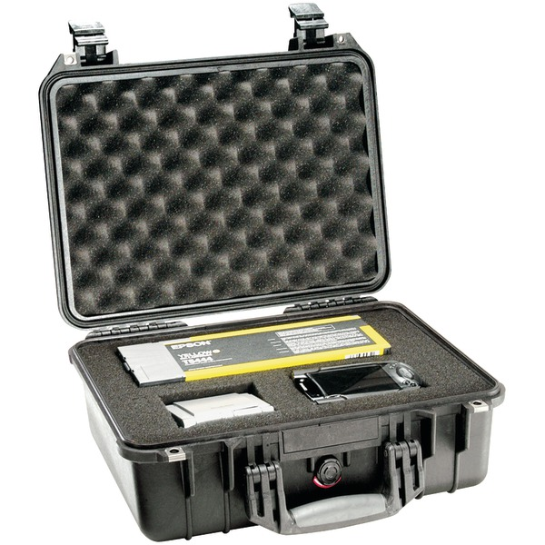 Pelican 1450-000-110 1450 Case with Pick N Pluck Foam (Black)