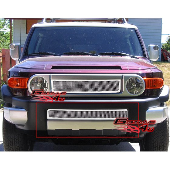 2016 Fj Cruiser >> Fits 2007 2016 Toyota Fj Cruiser Lower Bumper Stainless Steel Mesh Grille T75456t