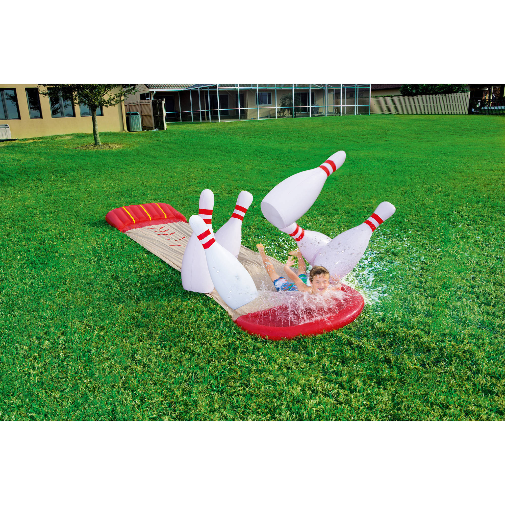 H2OGO! Slide N Splash Bowling Water Slide