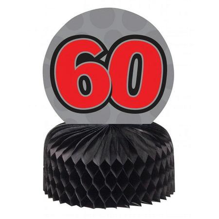 60th Birthday Table Centerpieces (Creative Converting 60th Birthday Centerpiece, 3)